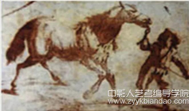 1825年拍出第一幅照片《牵马的孩子》.jpg